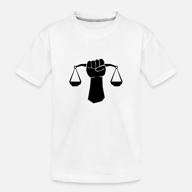 London No justice No peace Demonstration Protest Tshirt - Toddler Organic T-Shirt