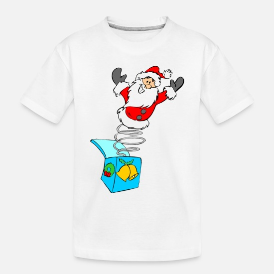 Christmas Baby Clothing - christmas elves grinch funny christmas ugly christ - Toddler Organic T-Shirt white