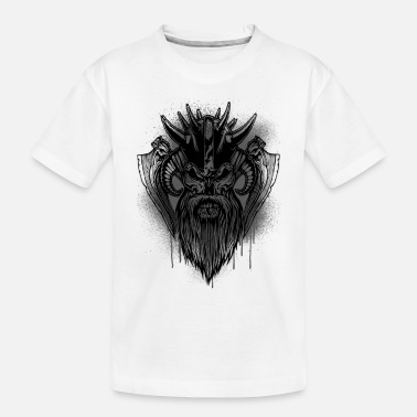 Viking mask viking - Toddler Organic T-Shirt