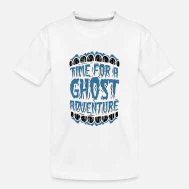 Ghost Paranormal Ghost Hunter summon Demons Gift - Toddler Organic T-Shirt