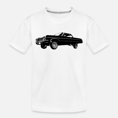 Urban Hydraulic Lowrider Car - Classic Car - Toddler Organic T-Shirt