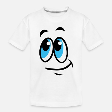 Dreamy Dreamy smile - Toddler Organic T-Shirt