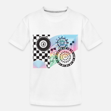India Psychedelic #4 Drugs - Toddler Organic T-Shirt
