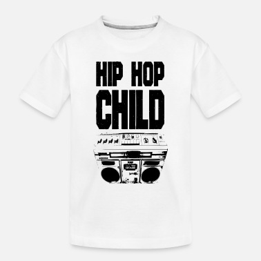 hiphopchild_black - Toddler Organic T-Shirt