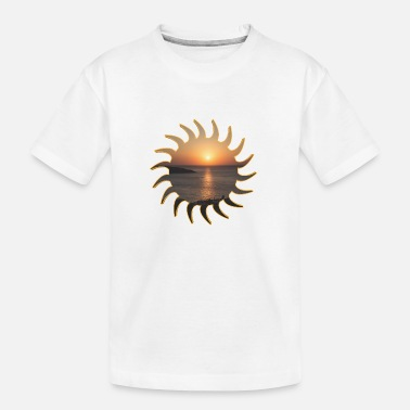 Deluxe Sunrise deluxe - Toddler Organic T-Shirt