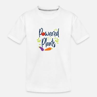 Body Vegetarian Powered By Plants Vegan Gym Funny Gift - Toddler Organic T-Shirt