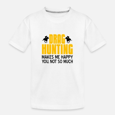Saddle Drag Hunting - Toddler Organic T-Shirt