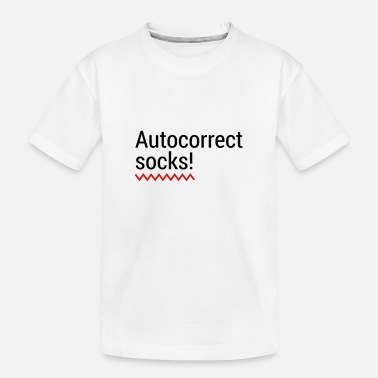 Mobile Phone Autocorrect Socks text message SMS Smartphone - Toddler Organic T-Shirt