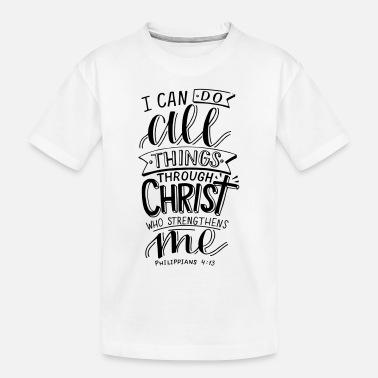 Kreuz I can do all things - Toddler Organic T-Shirt