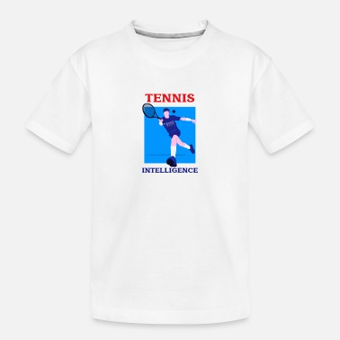 Court Tennis Intelligence - Toddler Organic T-Shirt