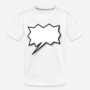 Speech Balloon Speech Balloon - Toddler Organic T-Shirt