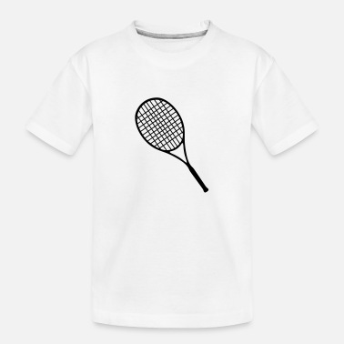 Racket Tennis racket - Toddler Organic T-Shirt