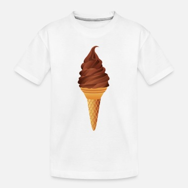 Ice Creame ice cream - Toddler Organic T-Shirt