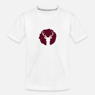 Deer Hunting Patch Deer Patch - Toddler Organic T-Shirt