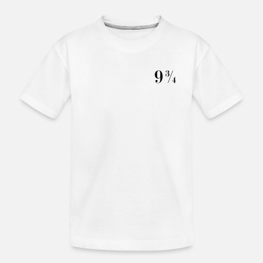 Nine Three Quarters Platform Nine Three Quaters Tshirt - 9 3/4 Tee - Toddler Organic T-Shirt