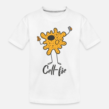 Cell Cell-Fie the cell with camera - Toddler Organic T-Shirt