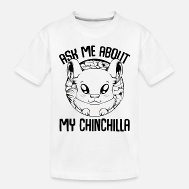 Rodent Chinchilla - Toddler Organic T-Shirt