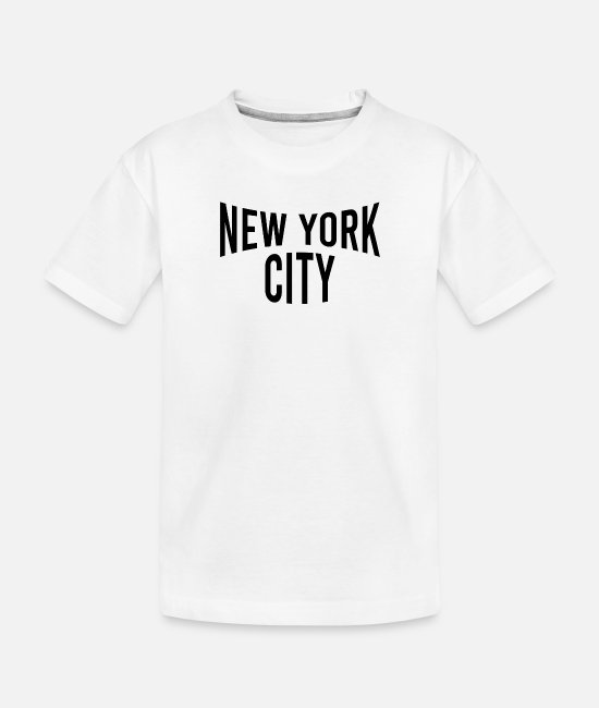 Honor Baby T-Shirts - Classic Vintage Iconic NYC Vintage - New York City - Toddler Organic T-Shirt white