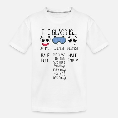 Periodic Table The glass contains, chemistry - Toddler Organic T-Shirt