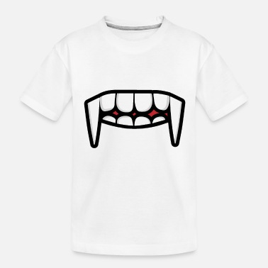 Nose face mask mask face tooth mouth - Toddler Organic T-Shirt