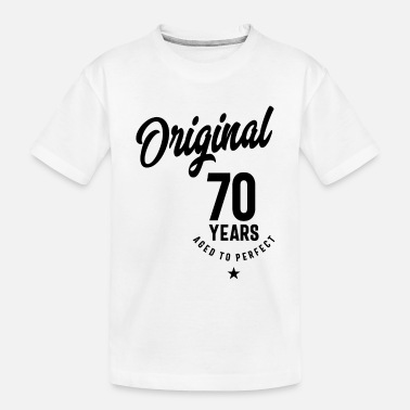 Production Year 70 Year Old Gift | 70th Birthday Gift Ideas - Toddler Organic T-Shirt