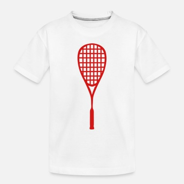 Racket racket squash - Toddler Organic T-Shirt