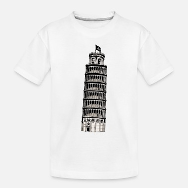 Inclined Tower leaning tower of pisa - Toddler Organic T-Shirt