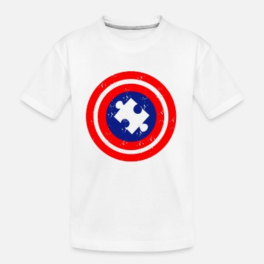 Autism Awareness Autism Awareness Day Superhero Gift - Toddler Organic T-Shirt