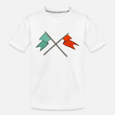 Flags Flags - Toddler Organic T-Shirt