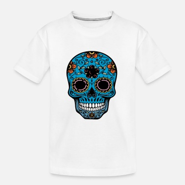 day of the dead skull - Toddler Organic T-Shirt