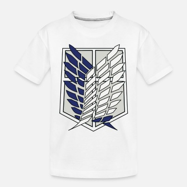 Titan attack on titan survey corps logo - Toddler Organic T-Shirt
