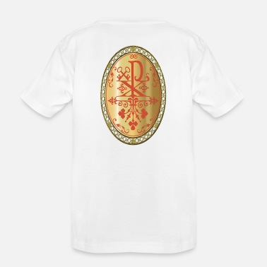 Rho CHI-RHO GOLD MEDALLION - Toddler Organic T-Shirt