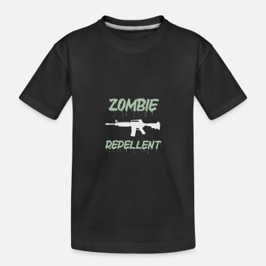 Bloody Equipped with zomvie repellent machine gun - Toddler Organic T-Shirt