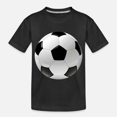 Ball Sport football realistic ball sport - Toddler Organic T-Shirt