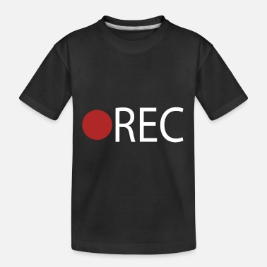 Record REC Record Recording - Toddler Organic T-Shirt