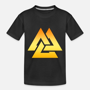 Christmas Nordic Symbol Valknut Viking Gift Idea - Toddler Organic T-Shirt