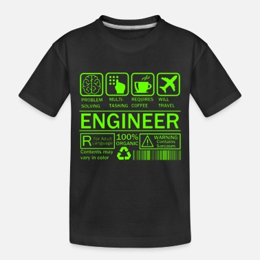 Clever Engineer - Toddler Organic T-Shirt