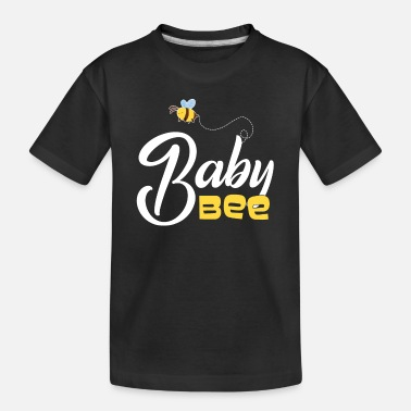 Daughter Baby Bee Mother and Daughter Matching - Toddler Organic T-Shirt