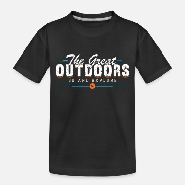 Great Outdoors THE GREAT OUTDOORS - Toddler Organic T-Shirt