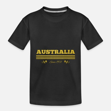 1901 golden AUSTRALIA since 1901 - Toddler Organic T-Shirt