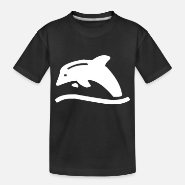 Creature Dolphin - Toddler Organic T-Shirt
