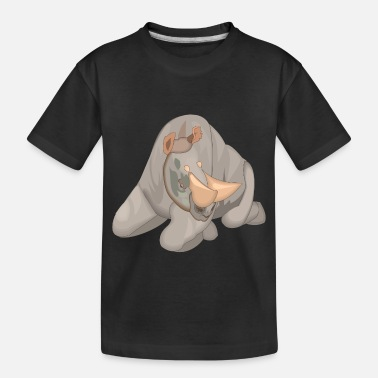 Horns horns - Toddler Organic T-Shirt