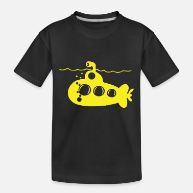 Yellow SUBMARINE - Toddler Organic T-Shirt