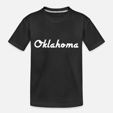 Us State Oklahoma - US State - United States of America - Toddler Organic T-Shirt