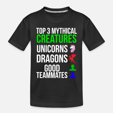 Creature Mythical Creatures Funny Gamer T-shirt - Toddler Organic T-Shirt