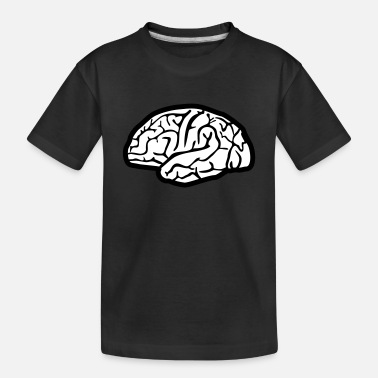 Brain Brain, brains - Toddler Organic T-Shirt