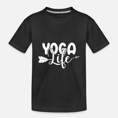 Sacred Yoga Life 01 - Toddler Organic T-Shirt