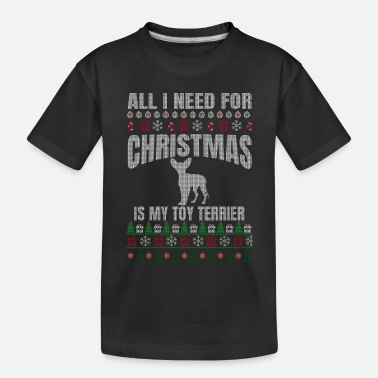 Toy Terrier owner - Toy Terrier lover - gift xmas - Toddler Organic T-Shirt