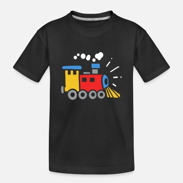 Railway Children's Railway Steam Locomotive Kids - Toddler Organic T-Shirt