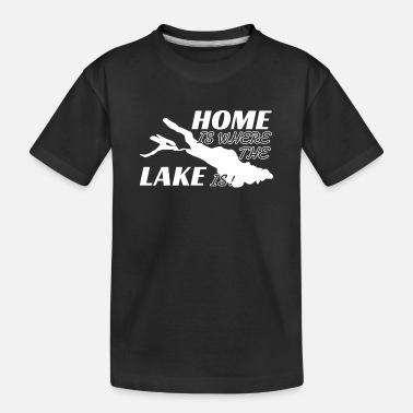 Lake Constance Lake Constance Home Is Where The Lake Is - Toddler Organic T-Shirt